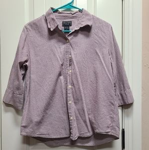 3/4 sleeve button up